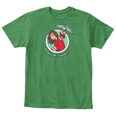 Radio Jh Games Kelly Green  T-Shirt Front