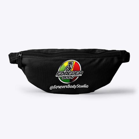 Forever Body Studio Fanny Pack Assorted Black T-Shirt Front