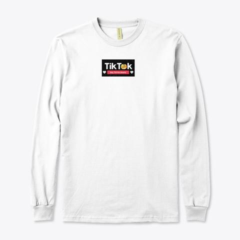 Tik Tok Free Followers / Hearts / Fans  White T-Shirt Front
