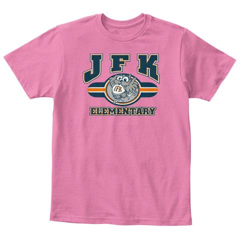 Jfk Elementary True Pink  Camiseta Front