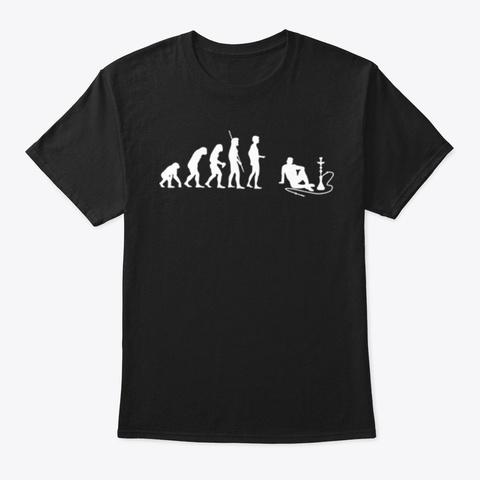 évolution Chicha Black T-Shirt Front