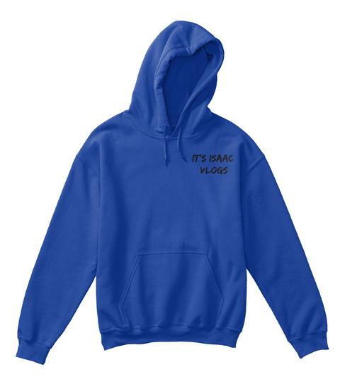 It's Isaac  Vlogs  Royal T-Shirt Front
