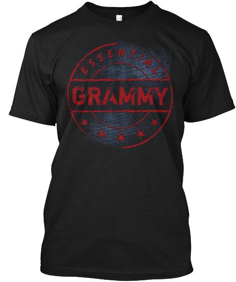 Essential Grammy Black T-Shirt Front