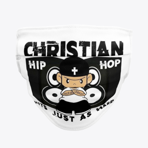 Christian Hip Hop Facemask Collection Standard T-Shirt Front