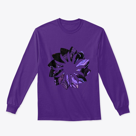 Raven'z Claws. Purple T-Shirt Front
