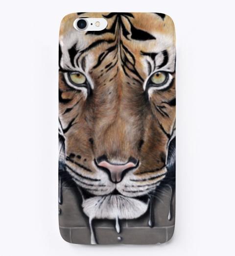 Hélène Roux / Fusion / Tiger / Tigre Black T-Shirt Front