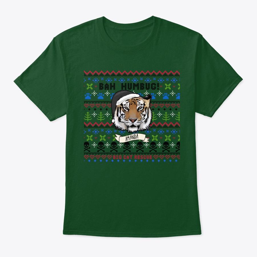 Not so Ugly Amanda Tiger Christmas Unisex Tshirt