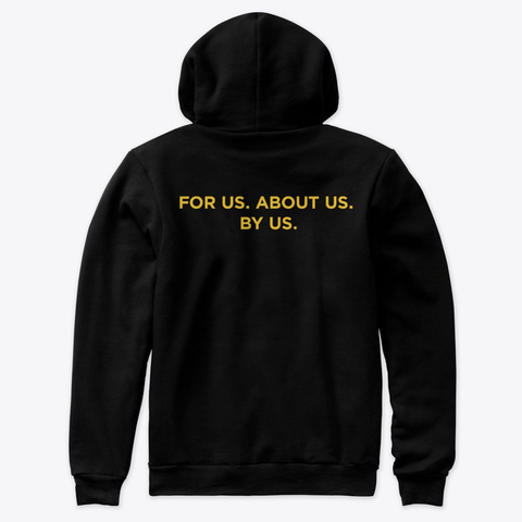 Edu Color: Pedagogy Gang, Blk [Exclusive] Black T-Shirt Back