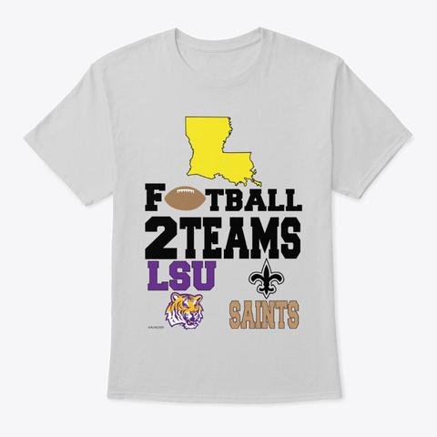 La 2 Teams Light Steel T-Shirt Front