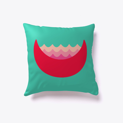 Lay Your Head On My Pillow Aqua T-Shirt Front