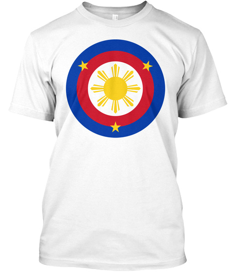 Captain Pinoy T Shirt White T-Shirt Front