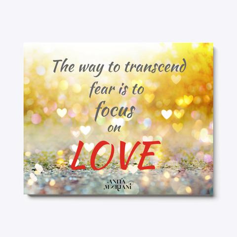 Focus On Love! Standard T-Shirt Front
