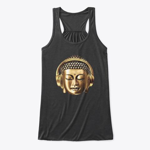 Beats Of Balance   Original Logo Dark Grey Heather T-Shirt Front