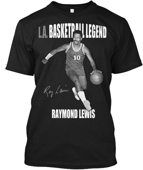 L.A. Basketball Legend T Shirt Black T-Shirt Front