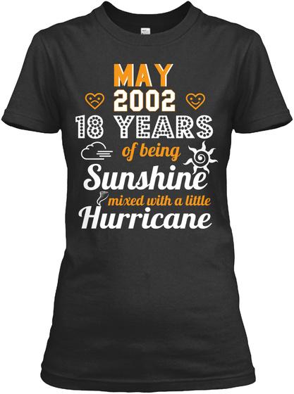 18th Wedding Anniversary May 2002 Hoodie Tshirt