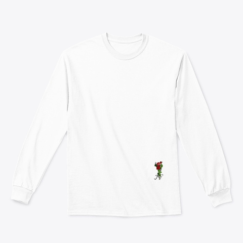 Jolie Sauvage Signature Line White T-Shirt Front