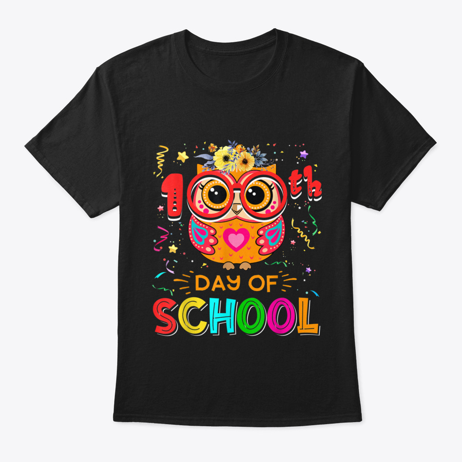100th Day Of School Owl Teacher Student Unisex Tshirt