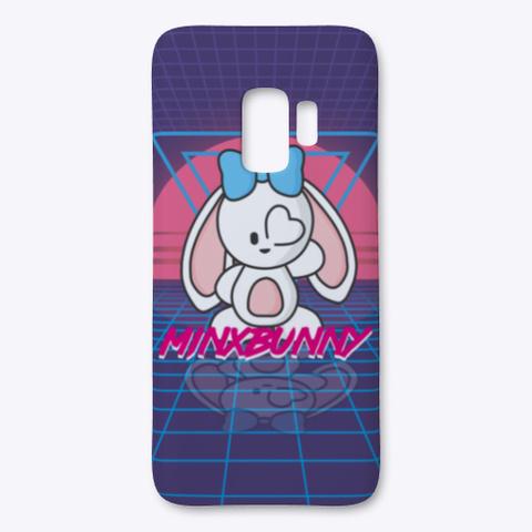Minx Bunny Retro Sunset Grid Standard T-Shirt Front