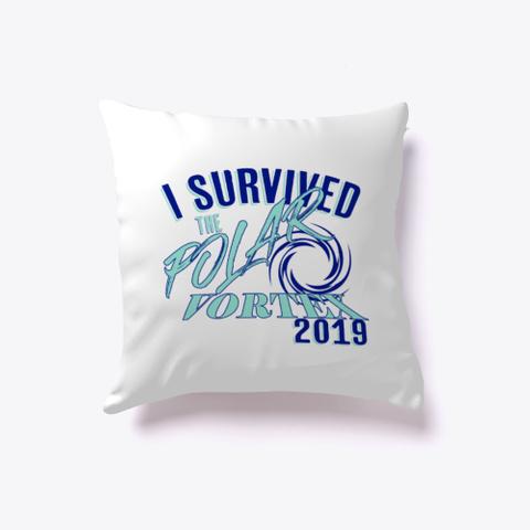 I Survived The Polar Vortex 2019 White T-Shirt Front