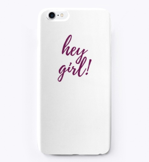 Front of We've Got You Covered iPhone Case