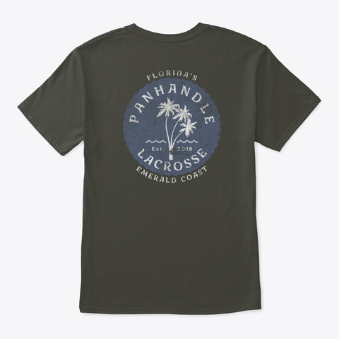 3 Palms Smoke Gray T-Shirt Back