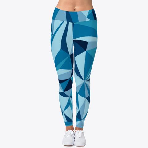 Blue Ice Leggings Standard T-Shirt Front