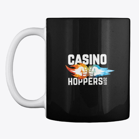 Casino Hopper Black T-Shirt Front