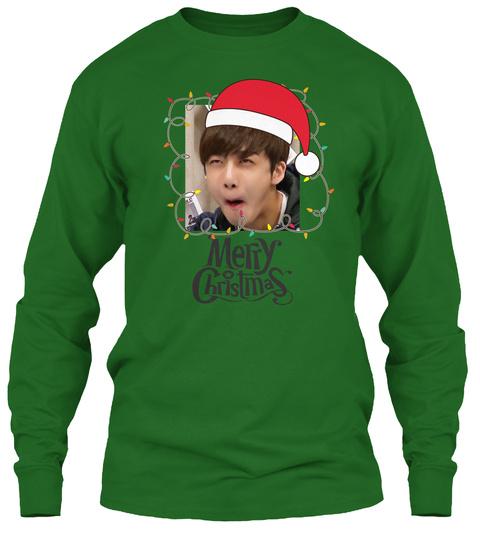 Ugly Kpop Sweater   Monsta X Hyungwon Irish Green T-Shirt Front