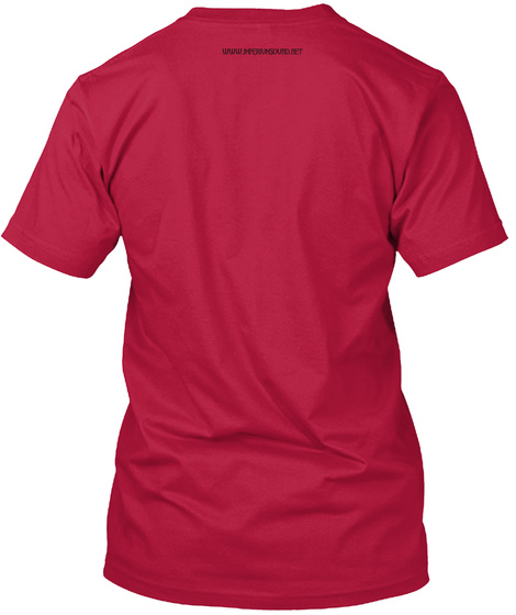 Imperium Cherry Red T-Shirt Back