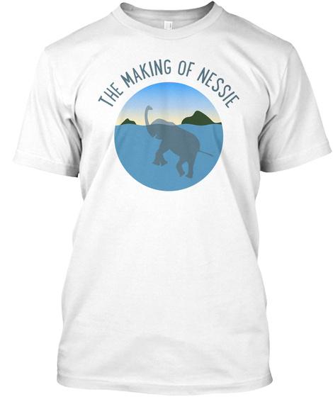 Nessie White T-Shirt Front