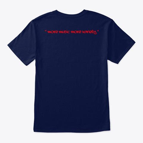 N Navy T-Shirt Back