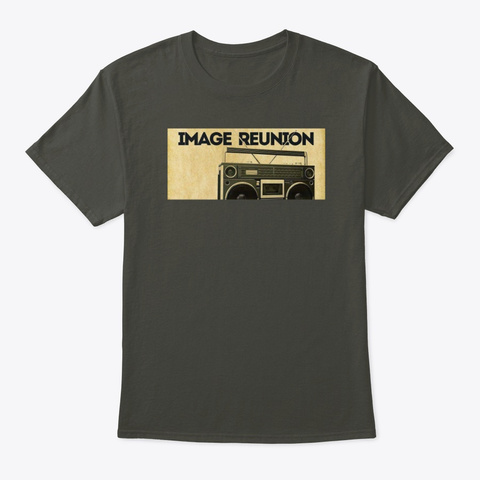 Image Reunion Radio Smoke Gray T-Shirt Front