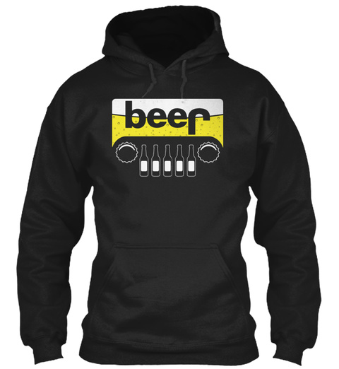 My Jeep Black Sweatshirt Front