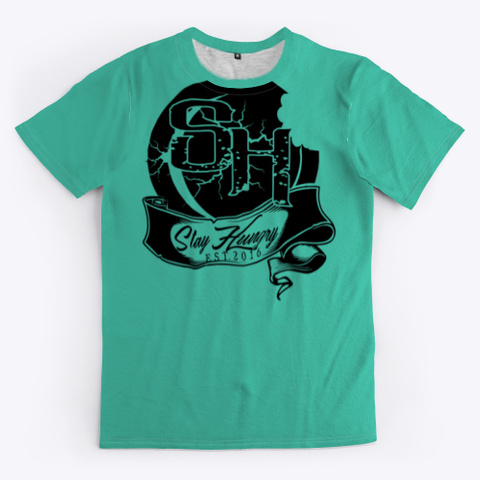 Brandonblvd Aqua T-Shirt Front