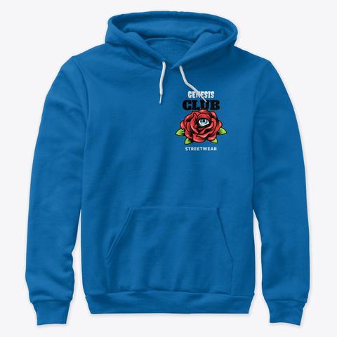 Eye Rose True Royal T-Shirt Front