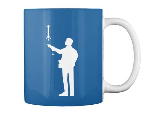 Falconer 2 Man Mug [Usa] #Sfsf Dk Royal Mug Back