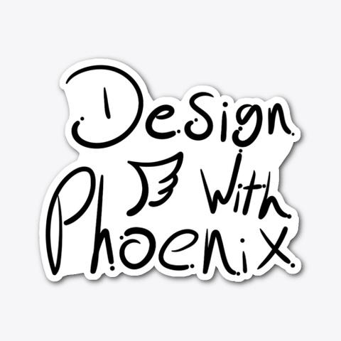 Design With Phoenix Standard T-Shirt Front