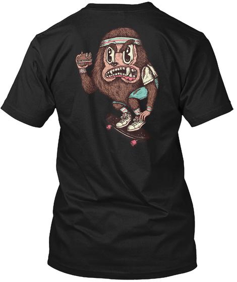 The Amazing Werewolf Black T-Shirt Back