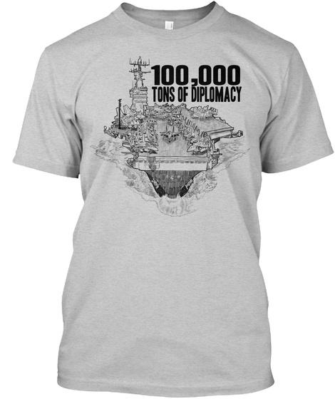 100000 TONS OF DIPLOMACY Unisex Tshirt