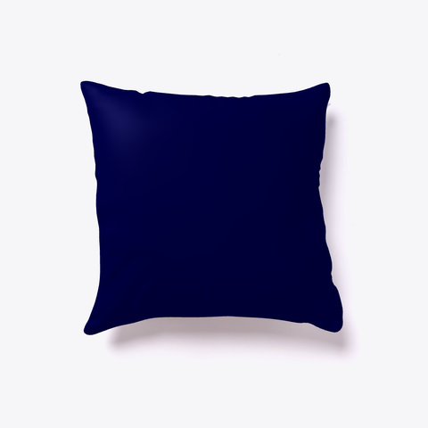 Nss Alumni Hackathon Pillow Dark Navy T-Shirt Back