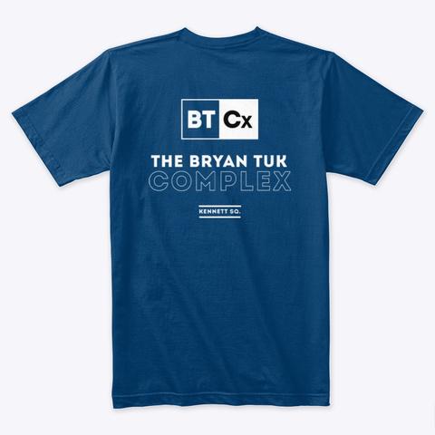 Tuk Premium Sketch Tee! Cool Blue T-Shirt Back