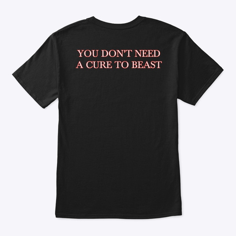 Original Beast Black T-Shirt Back