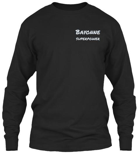 Bayonne Superpower Black T-Shirt Front