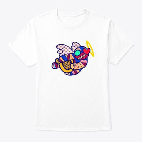 Bird White T-Shirt Front