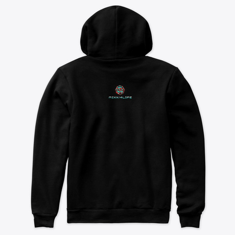 Mixx/4 Life Design Black T-Shirt Back