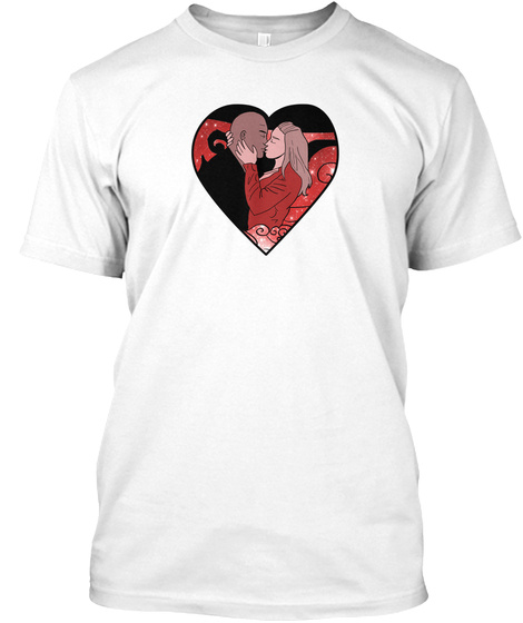 My Heart Is Yours White T-Shirt Front
