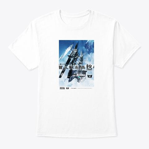 K76 Falling White T-Shirt Front
