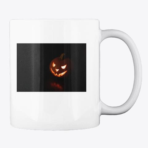 Halloween Mugs White T-Shirt Back