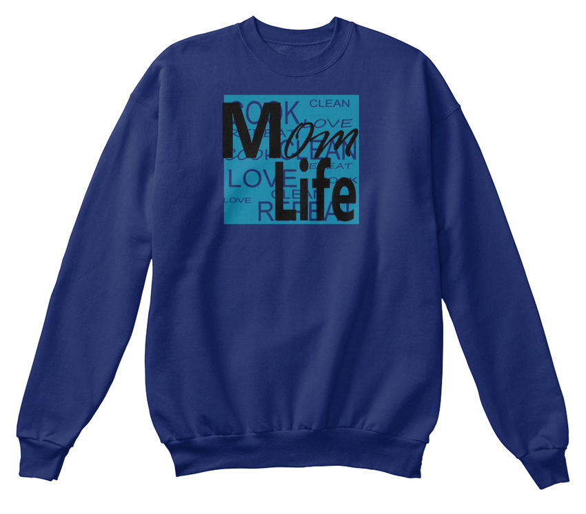 Life2 Clean Cook confortable Trend Hot Love Mom Life Top Design Sweat shirt HIZq4Ax