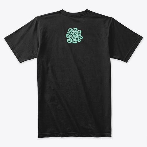 Memphis Black T-Shirt Back